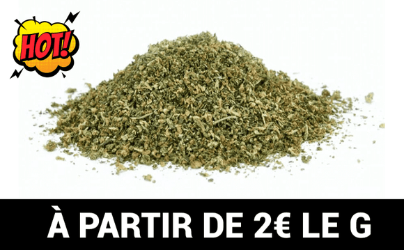Mix Miettes Indoor de Cannabis CBD 18%