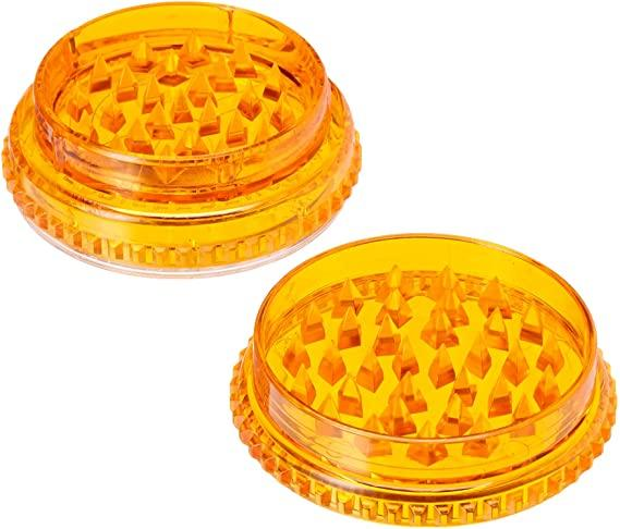 Grinder Orange Plastique Grinder Okiweed