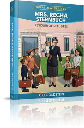 Mrs. Recha Sternbuch: Rescuer of Refugees