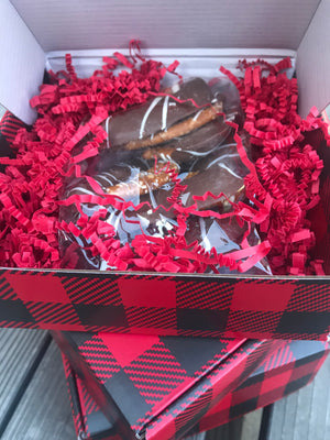 Holiday Plaid Box