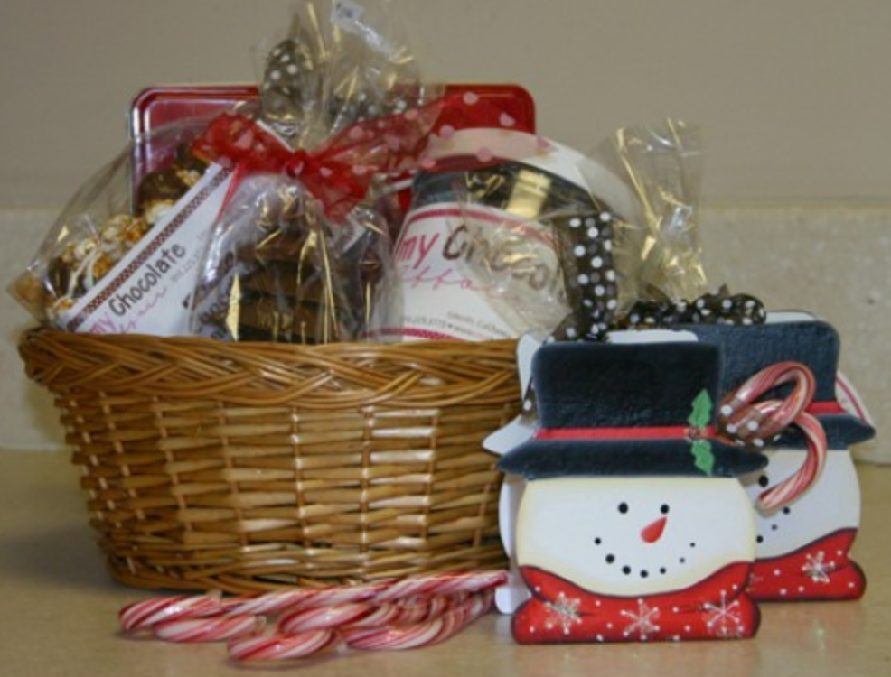 Large Holiday Gift Basket