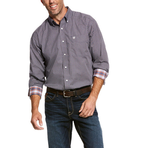 Ariat Men's Wrinkle Free Valker Button Up