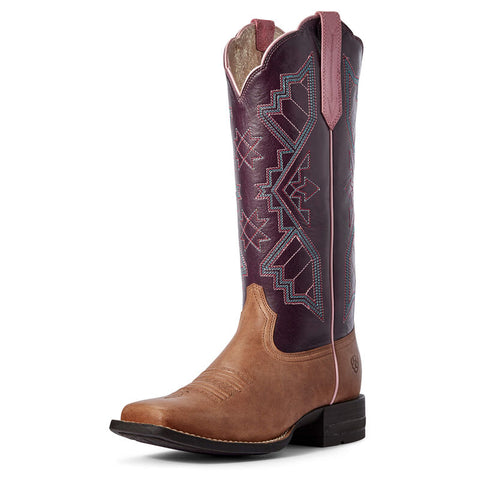 Ariat Womens Jackpot Shock Shield Cowboy Boots