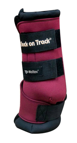 Back on Track Therapeutic Quick Wraps - Burgundy