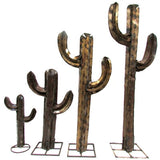 Recycled Metal Cactus