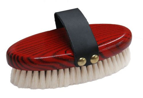 Oval Soft Goat Hair Finishing Brush