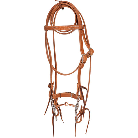 Miniature Bridle – Pony with Tom Thumb Snaffle