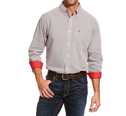 Men's Ariat Wrinkle Free Cleary Classic Fit Shirt