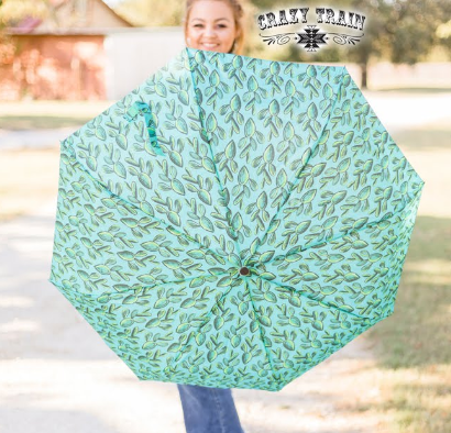 Crazy Train Desert Storm Cactus Umbrella