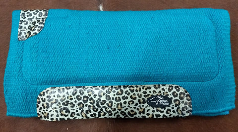 Ortho Equine Leopard Pony Saddle Pad