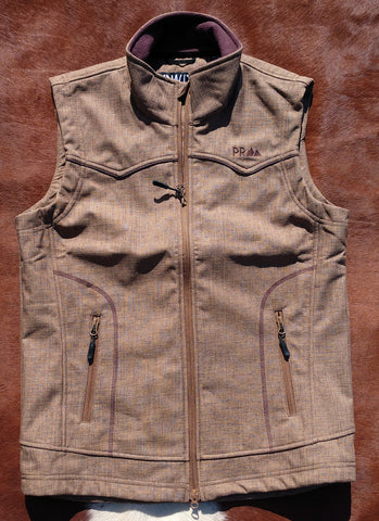 Panhandle Men's Brown Softshell Vest