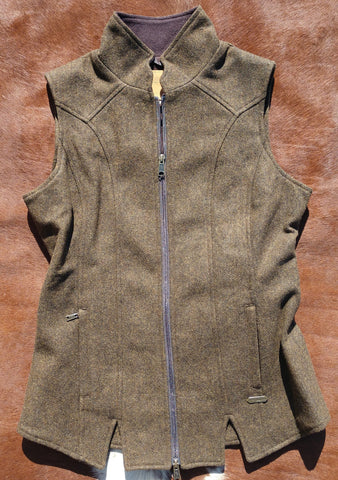 Panhandle Women's Wool Vest