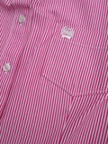 Women's Cinch Pink Stripe Button Up