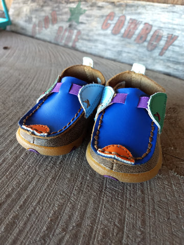 Infant Multi Color Moccasin