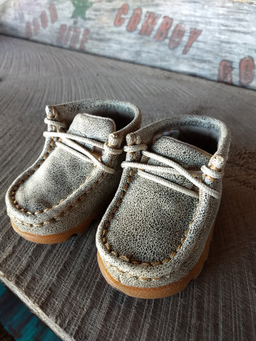 Infant Dusty Tan Moccasin