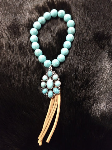Southern Blossom Turquoise Bracelet
