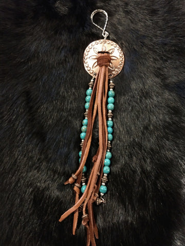Concho Purse Dangle