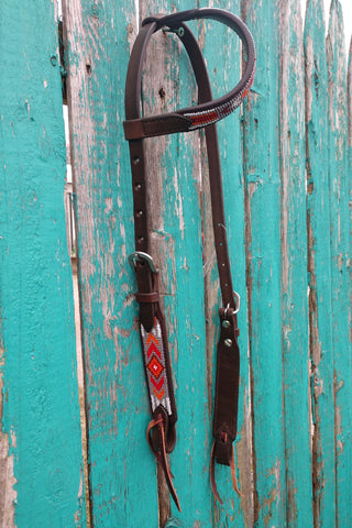 Cashel One Ear Beaded Gallup Headstall