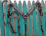 Cashel One Ear Beaded Cheetah Headstall