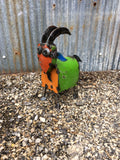 Extra Small Recycled Metal Goats