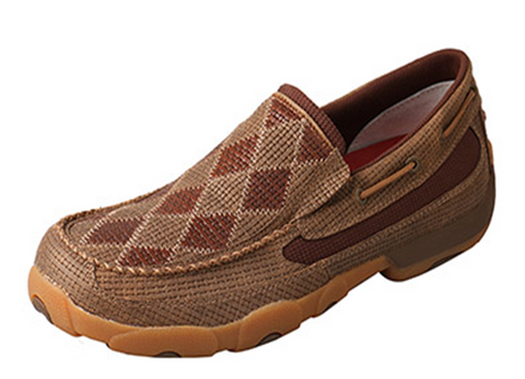 Men's Slip-on Patchwork Driving Moccasin