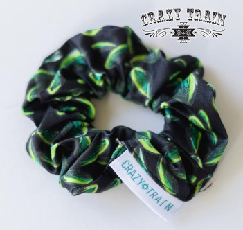 Crazy Train Brady Cactus Scrunchie