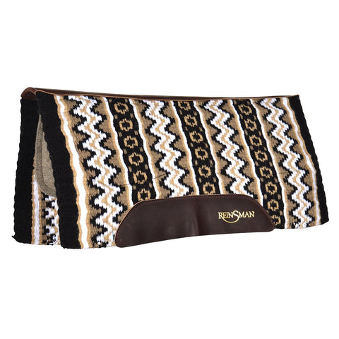 Nitro-Gel Black/Taupe Performance Saddle Pad
