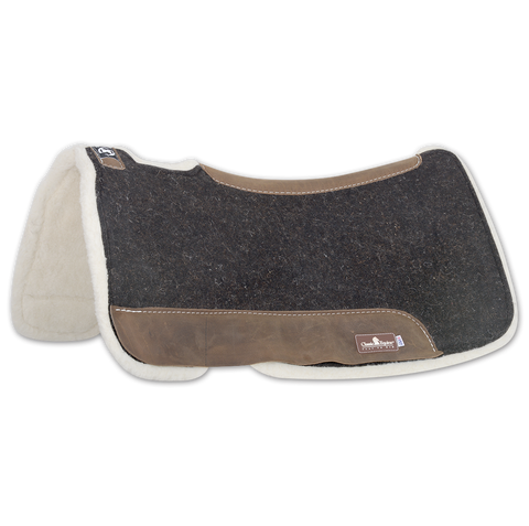 Zone Felt/ Fleece Saddle Pad