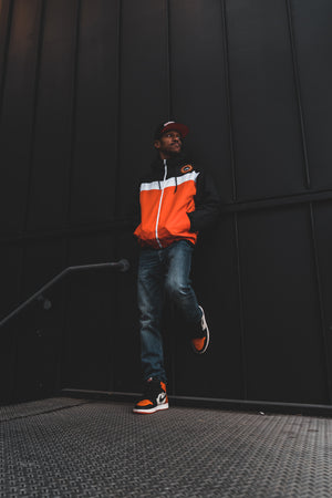 The Orange Peel Windbreaker Jacket