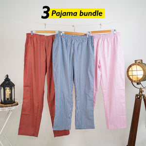 Mma Loose Pyjama Set of 3 - XXL for Men