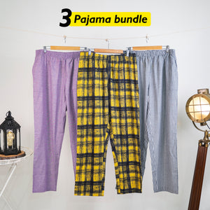 Faini Loose Pyjama Set of 3 - XXL for Men