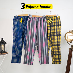 Craic Loose Pyjama Set of 3 - Medium for Men
