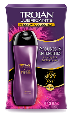 TROJAN  Lubricant Arouses & Intensifies 88ml