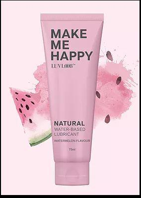 LUVLOOB  Natural Lubricant / Water-Based Watermelon Flavour 75 ml