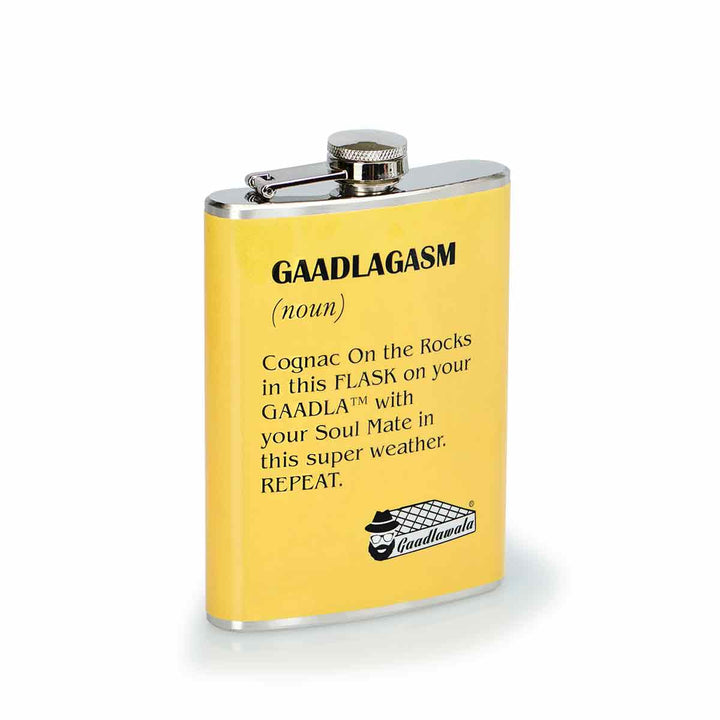 Gaadlagasm Hip Flask