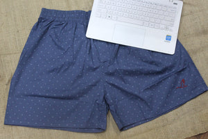 Blue Printed Boxer