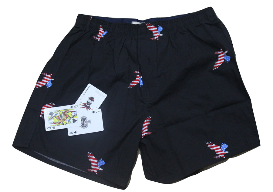 Black Eagle Print Boxer