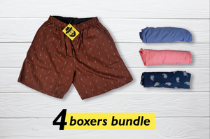 Pedair  Set of 4 Boxers - Medium