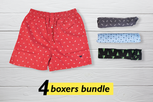 Cuatro Set of 4 Boxers - Small