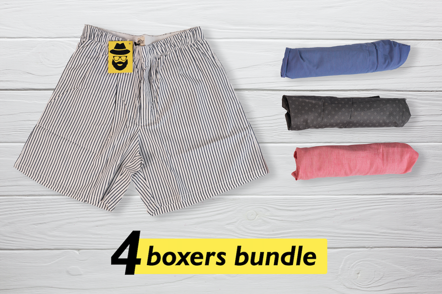 Quatre Set of 4 Boxers - Small