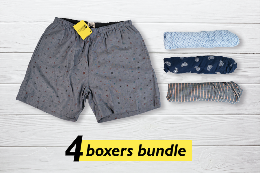 Choug Set of 4 Boxers - XL