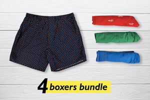 Lau Set of 4 Boxers - XL
