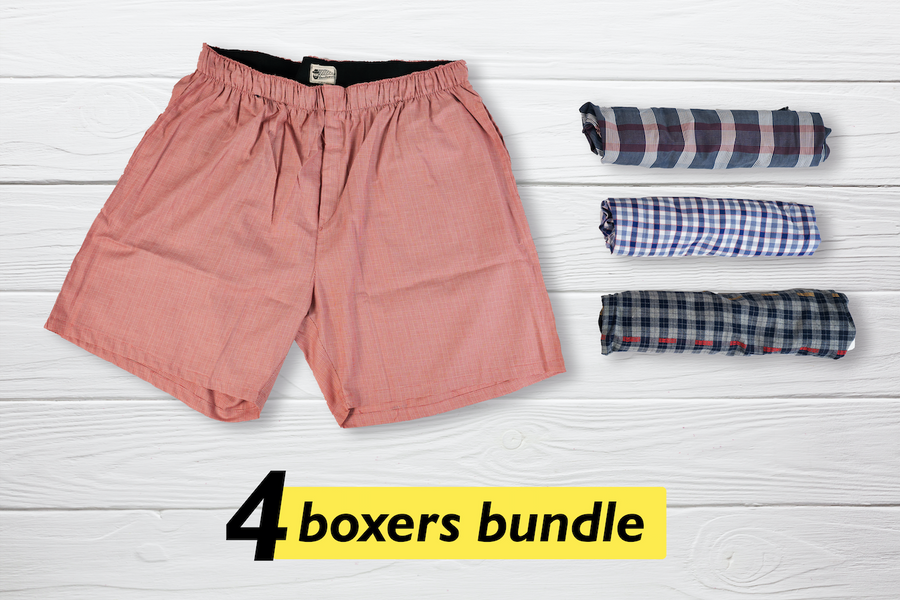 Care Set of 4 Boxers - XXL