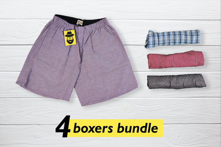 Madingas Set of 4 Boxers - Medium