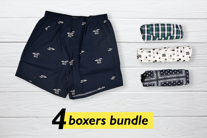 Dapper Set of 4 Boxers - Medium
