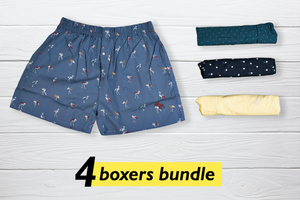 Qulay Set of 4 Boxers - XL