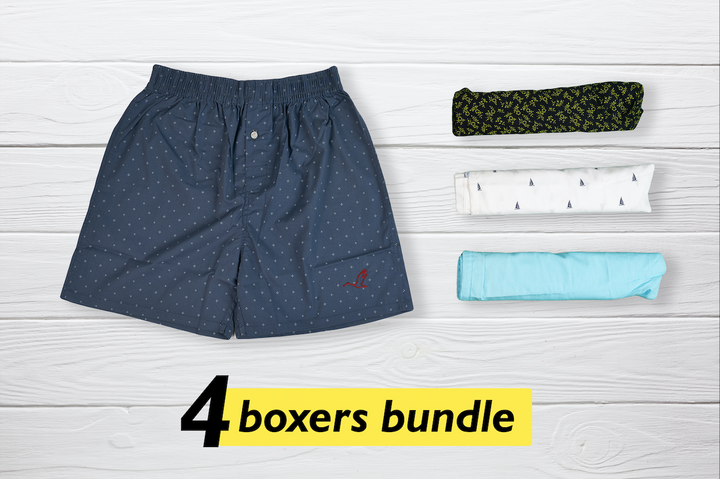Conjunto Set of 4 Boxers - Small