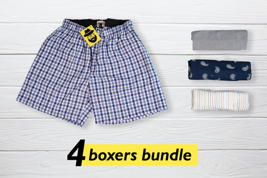 Isethi Set of 4 Boxers - Small