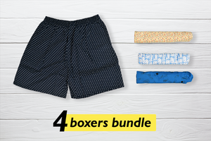 Pamode Set of 4 Boxers - Medium