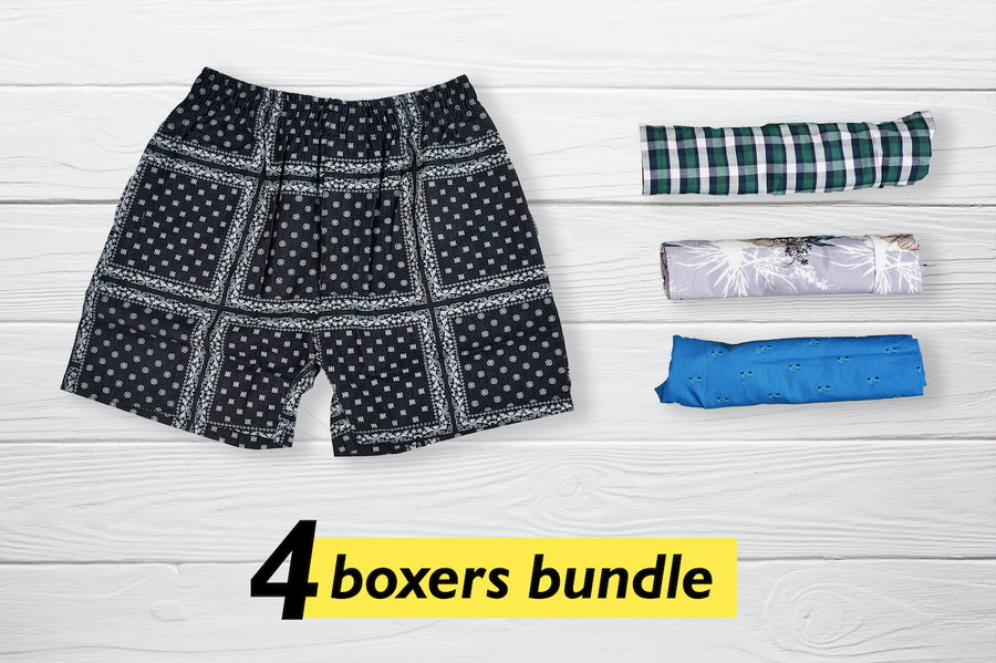 Modieus Set of 4 Boxers - Medium